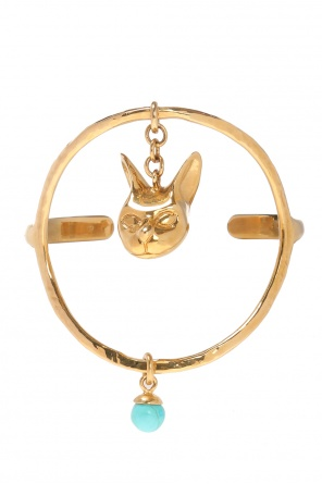 Bracelet with cat head motif od Givenchy