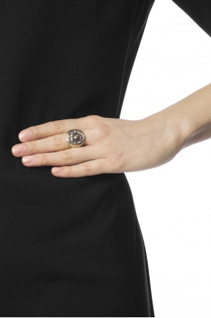 Brass signet ring od Givenchy