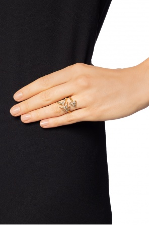 Ring with swarovski crystals od Givenchy