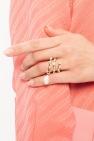 Givenchy Pierścień z kryształami