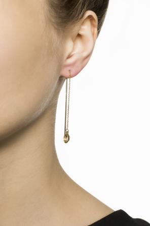 Hanging earrings with charm od Isabel Marant