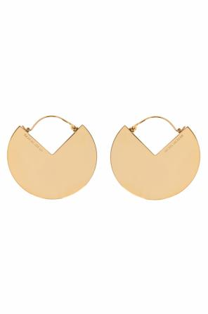 Logo-embossed earrings od Isabel Marant