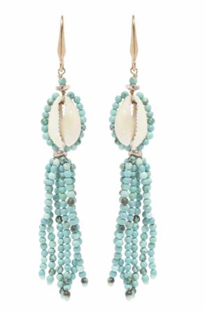 Hanging earrings with shells od Isabel Marant