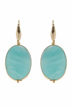Encrusted hanging earrings od Isabel Marant