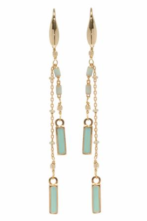 Hanging earrings with beads od Isabel Marant