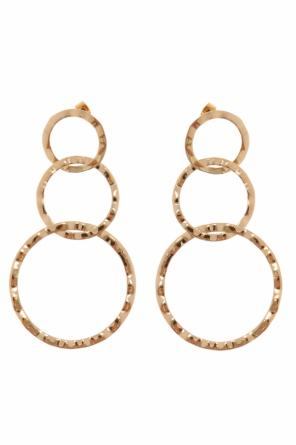Hanging earrings with loops od Isabel Marant