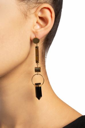 Hanging earrings with stones od Isabel Marant