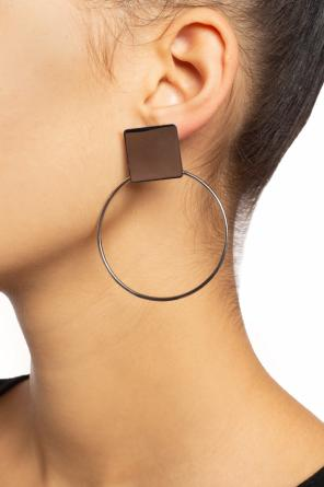 Geometrical earrings od Isabel Marant