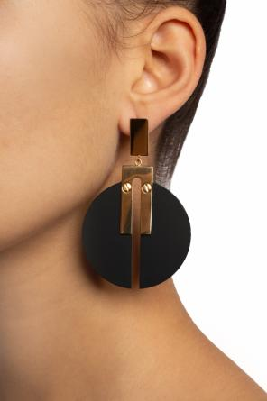 Earrings with a round application od Isabel Marant
