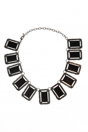 Black mirror黄铜项链 od Midgard Paris