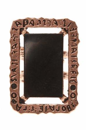 Black mirror黄铜戒指 od Midgard Paris