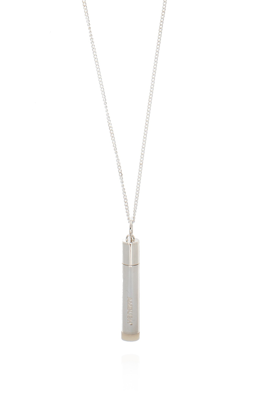 Ambush 'Pill Case' necklace with charm