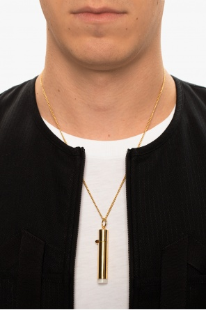 'pill case' necklace with charm od Ambush