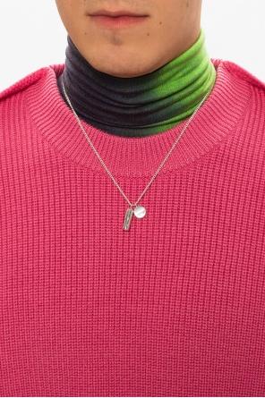 Silver necklace od Ambush