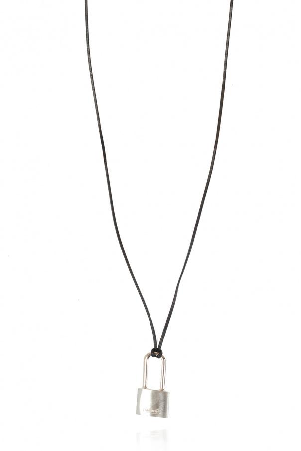 Ambush Necklace with silver charm