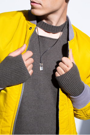 Necklace with silver charm od Ambush