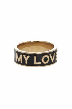 Ring with lettering od Givenchy