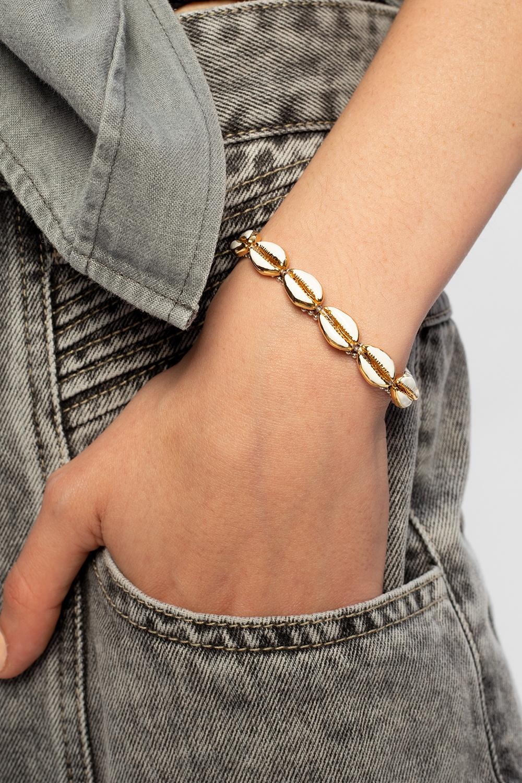 Isabel Marant Shell bracelet