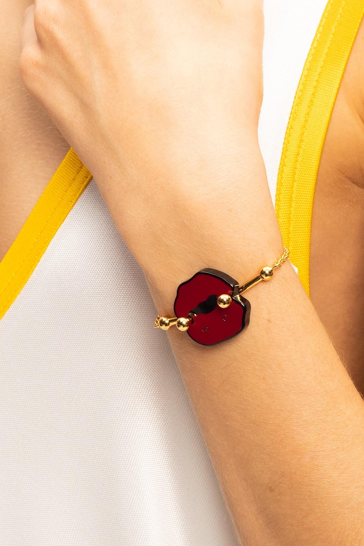 Marni Appliquéd bracelet