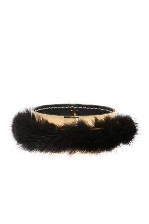 Bracelet with fur trimming od Marni