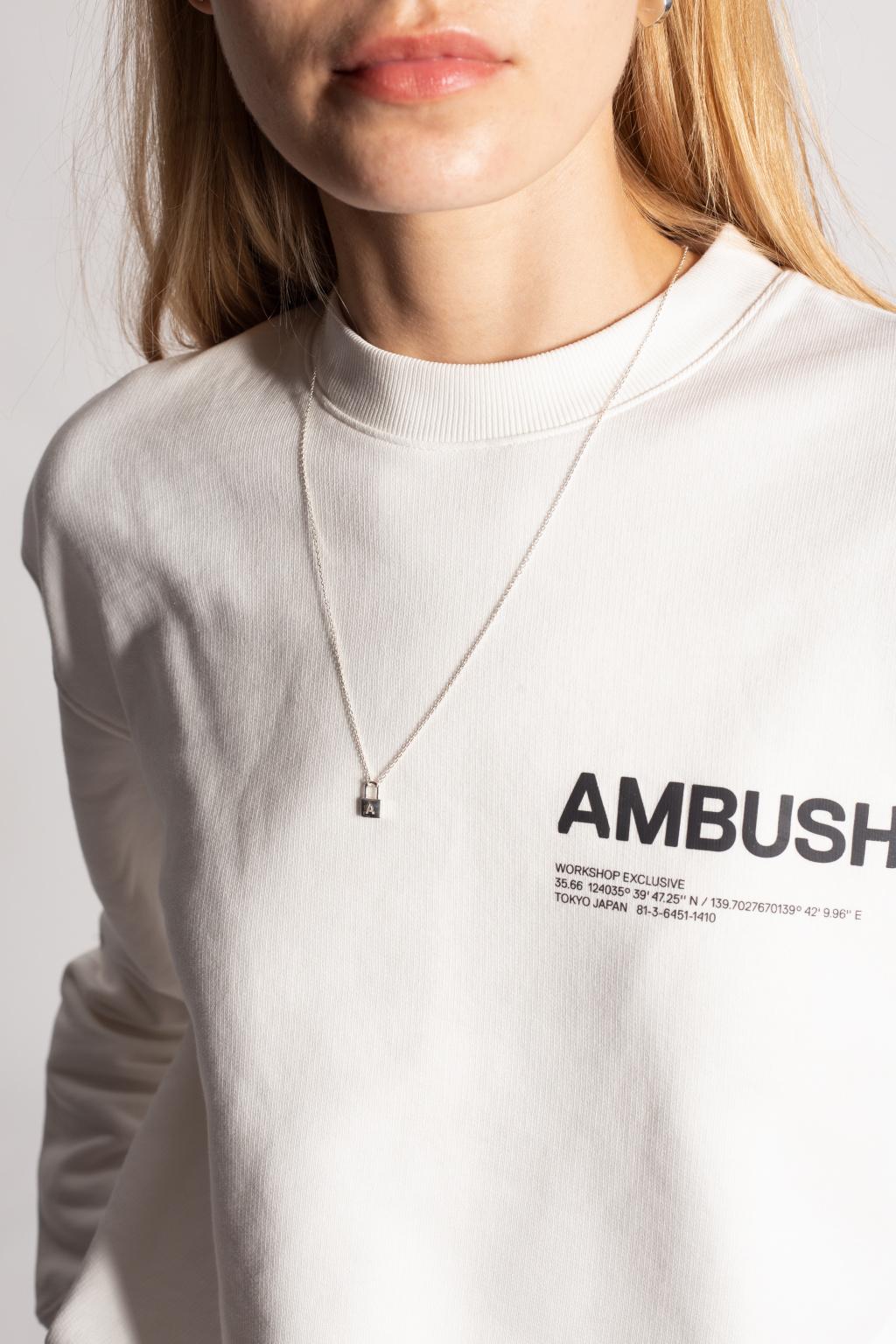 Ambush Silver necklace with charm