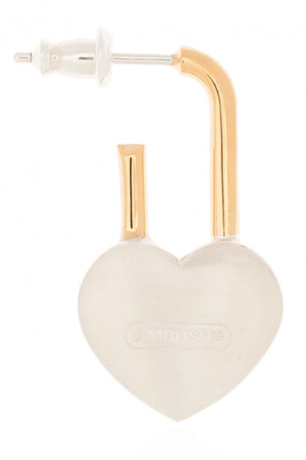 Ambush 银质耳环