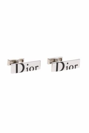 Cuff links with logo od Dior