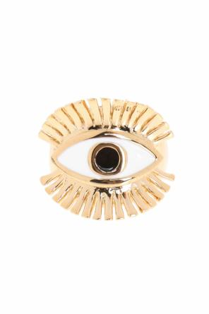 Embellished brass ring od Chloe