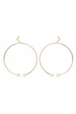Earrings with swarovski pearls od Chloe