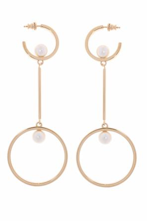 Pendant earrings with loops od Chloe