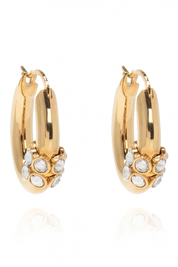 Chloé Brass earrings