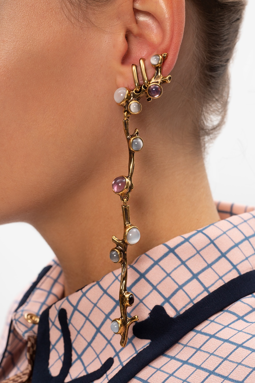 Chloé Embellished earrings