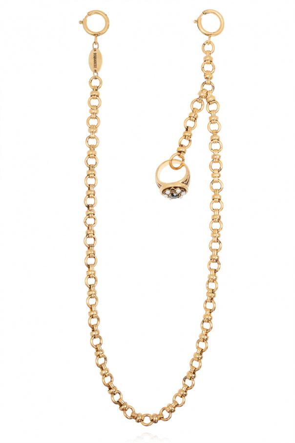 Dsquared2 黄铜项链