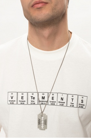 Necklace on chain od Marcelo Burlon