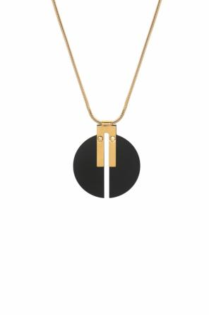 Necklace with a round application od Isabel Marant