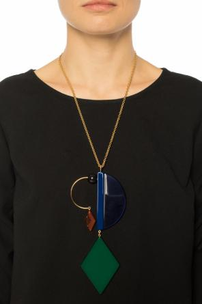 Embellished necklace od Marni
