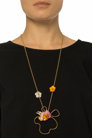 Floral motif necklace od Marni
