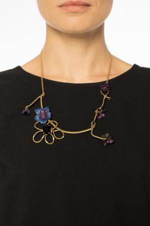 Necklace with leather accents od Marni