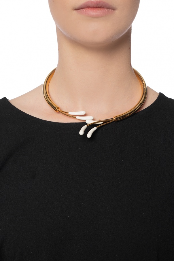 Necklace with ceramic pendants od Marni