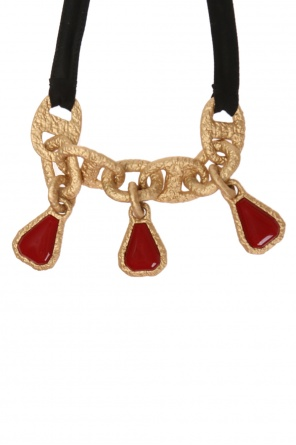 Encrusted necklace od Marni