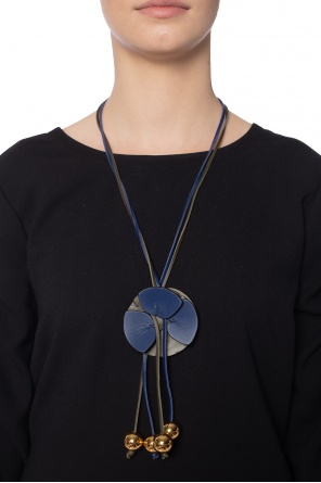 Leather necklace od Marni