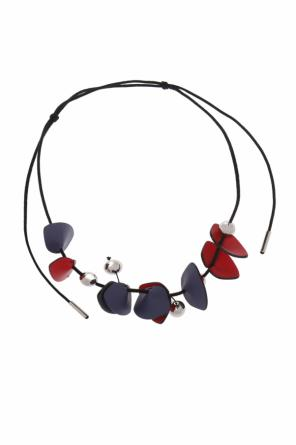 Necklace with leather pendants od Marni