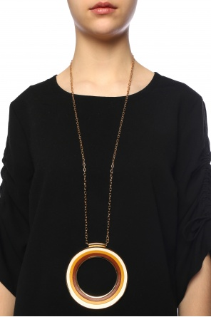Necklace with round charm od Marni