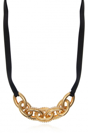 Crystal-embellished necklace od Marni