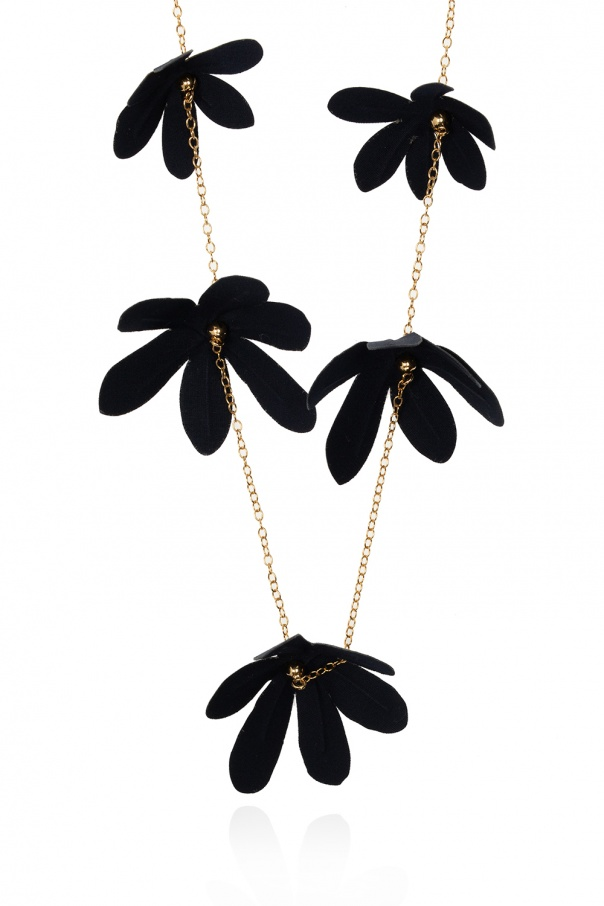 Marni Floral motif necklace