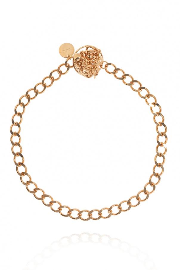 Marni Appliquéd necklace