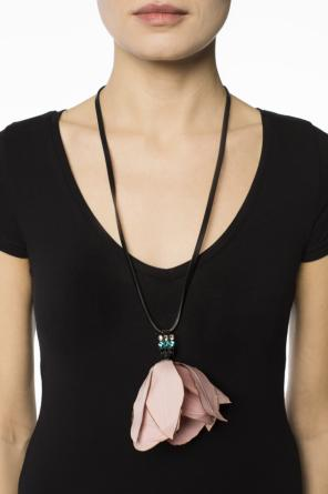Necklace with flower pendant od Marni