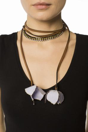 Necklace with flower pendants od Marni
