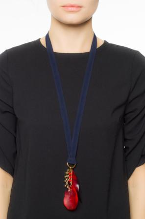 Necklace on ribbon od Marni