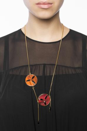 Necklace with round charms od Marni